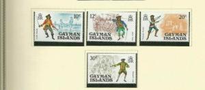 CAYMAN ISLANDS 1975 SCOTT 362-5 MNH
