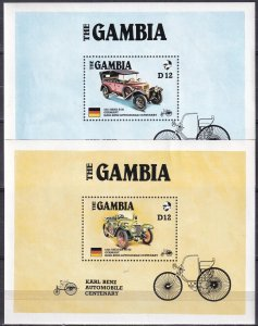 Gambia #628-9 F-VF Unused CV $9.50  (K2710L)