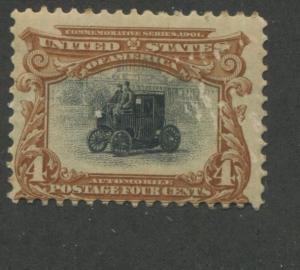 1901 US Stamp #296 4c Mint Never Hinged Average Pan-American Exposition Issue