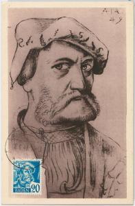 57200  -  GERMANY  Baden - POSTAL HISTORY: MAXIMUM CARD 1948 - ART Hans Baldung