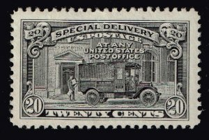 US STAMP BOB # E19 20c Special Delivery 1925-51 MNH/OG XFS SUPERB