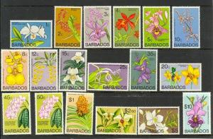 Barbados Scott 396-411 Mint NH (Catalog Value $57.85)