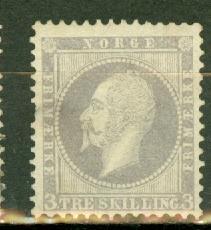 Norway 3 unused no gum CV $550