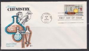 1685 Chemistry Unaddressed Cover Craft FDC