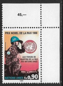 United Nations UN Geneva 1989 Scott # 175 Mint NH. Ships Free With Another Item.