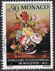 Monaco 848 Used -  Intl. Competition for Binding of Flowers, Monte Carlo