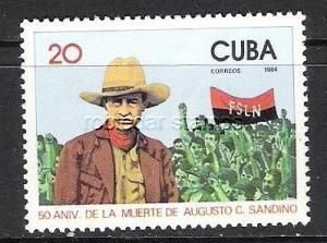 CUBA 2684 MNH SANDINO P848