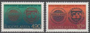 Yugoslavia #1441-2  MNH (K847)