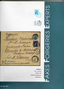 Fakes Forgeries Experts Vol. #5 May 2002