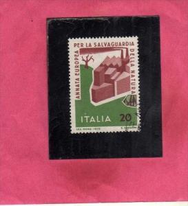 ITALIA REPUBBLICA ITALY REPUBLIC 1970 SALVAGUARDIA DELLA NATURA PROTECTION OF...