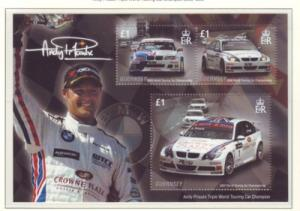 Guernsey Sc 971 2008 Priauix Cars stamp sheet mint NH