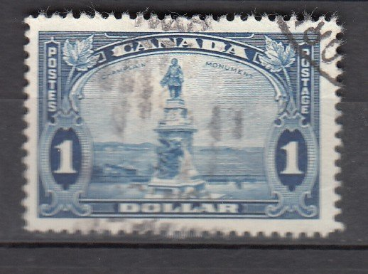 J26207 jlstamps 1935 canada used #227 monument