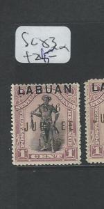 LABUAN (P2101B) 1C  MAN  SG 83  MOG