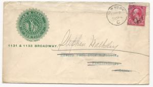 US AD COVER William M Crane Broadway, NY