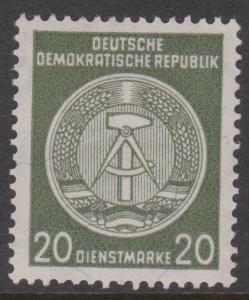 Germany DDR Sc#O22a MNH