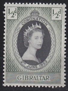 Gibraltar 131 MNH (1953)