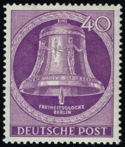Germany #9N98 Freedom Bell; Unused (4Stars)