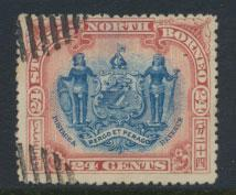 North Borneo SG 109  SC#88 Used  perf 13½ x 14  see details & scans