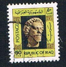 Iraq 766 Used Head of Bearded Man (BP821)