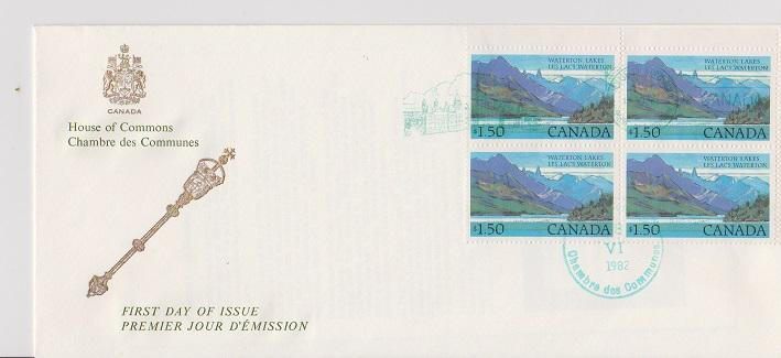 CANADA FDC FOM HOUSE OF COMMOMS STAMPS #935  LOT#M111