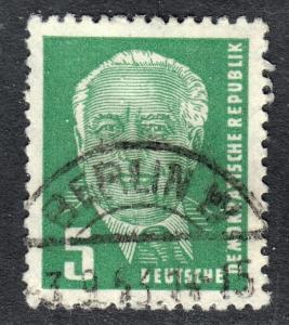 Germany DDR Scott 113  F to VF postally used.