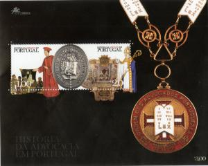 PORTUGAL 2555 MNH S/S SCV $6.00 BIN $4.00