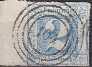 Thurn & Taxis #31  F-VF Used  CV $600.00  (Z6924)