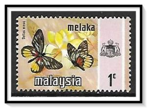 Malacca #74 State Crest & Butterflies MH