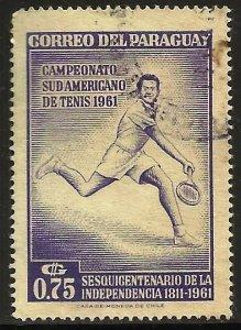 Paraguay 1962 Scott# 631 Used