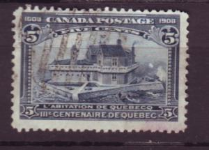 J18607 JLstamps 1908 canada used #99 in quebec