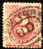 US Stamp #J23 - American Bank Note Issue Pstg.Due Single