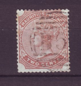 J21954 Jlstamps 1879-80 mauritius used #59 queen wmk 1