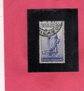 ITALIA REPUBBLICA ITALY REPUBLIC 1960 XXVII 17 a OLIMPIADE OLYMPIC GAMES ROMA...