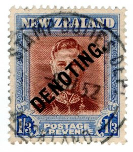 (I.B-BOB) New Zealand Revenue : Denoting 1/3d