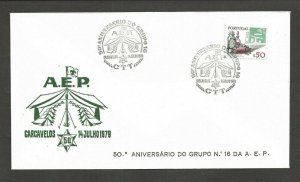 1979 Portugal Boy Scout 50th anniversary do Grupo 16 Carcavelos