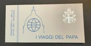 Vatican City Sc# 743a MNH (Mint Never Hinged) Complete Booklet 1984 Pope Paul II