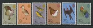 Cayman Island 1975 Bird Stamp Set Scott 354 - 9 6 Stamps MNH