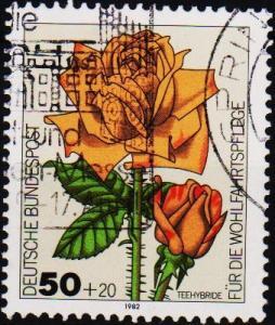Germany. 1982 50pf+20pf  S.G.2004 Fine Used
