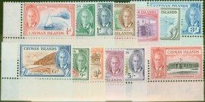 Cayman Islands 1950 set of 13 SG135-147 Superb MNH Marginals