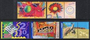 Australia 1955-1959 MNH VF