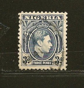 Nigeria 58 King George VI Used