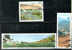 2006   NAMIBIA  -  SG: 1046/48  -  RIVERS  -  USED