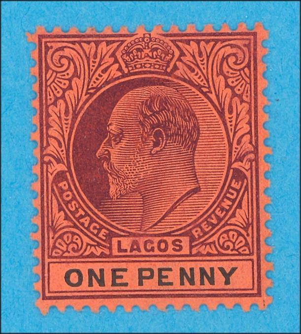 LAGOS 51 MINT HINGED OG * NO FAULTS VERY FINE !