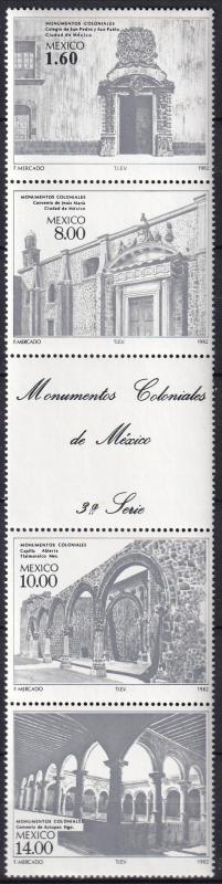 Mexico #1306a MNH CV $15.00  Z512L