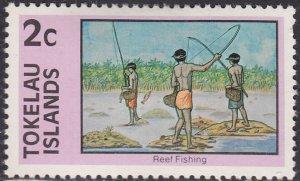 Tokelau Islands 50 Reef Fishing 1976