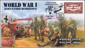18-240, 2018, Dawn Patrol Rendezvous, Pictorial Postmark, Dayton OH, event