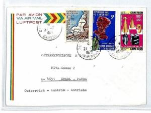 CM165 1976 *CAMEROON* Air Mail MIVA Missionary Cover