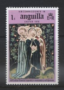 ANGUILLA -Scott 253 -  Easter - 1976 - Single 1c Stamp