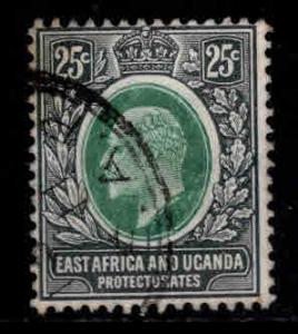 East Africa and Uganda protectorates  Scott 37 KEVII nice color and centering