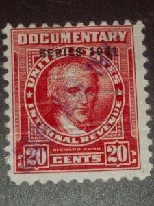 USA #R318 20c Carmine 1941